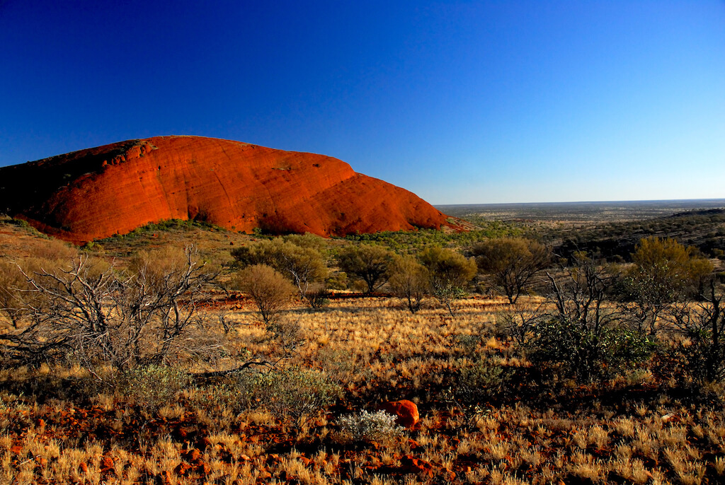 Australie - Centre rouge - Monts Olga