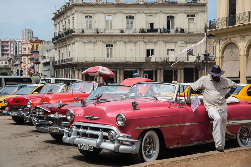 Cuba - La havane, voitures anciennes