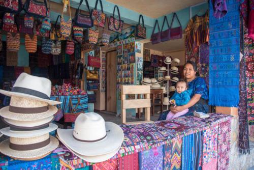 Boutique de chapeau à Santa Catarina Palopo