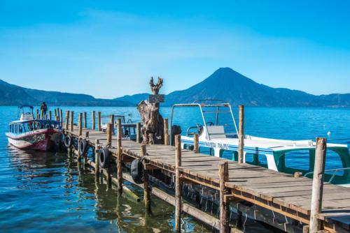 Lancha du lac Atitlan