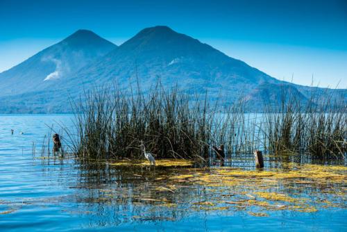 Volcans autour du du lac Atitlan