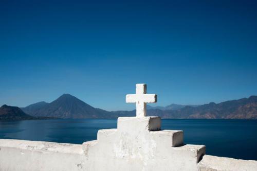 San Antonio Palopo sur le bord du lac Atitlan