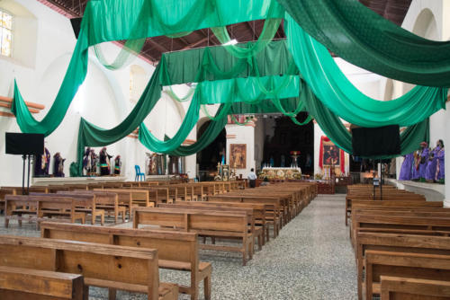 Eglise à Santiago Atitlan