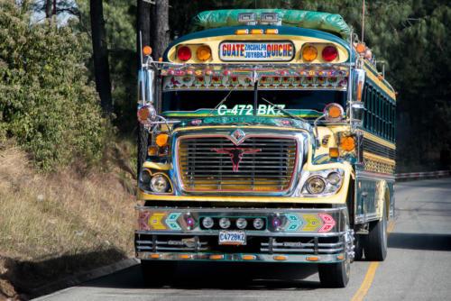 Chromes et couleurs pour les bus locaux