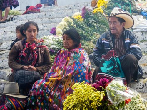 Les habitants de la région de Chichicastenango descendent des Mayas