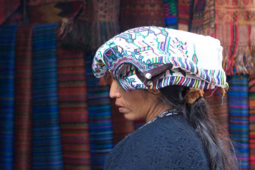 Coiffure traditionnelles à Chichicastenango