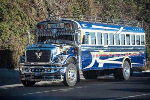 Débauche de chrome pour ce bus