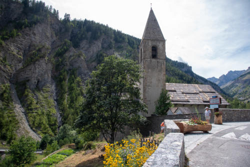 Mercantour, Saint-Dalmas-le-Selvage, l'église